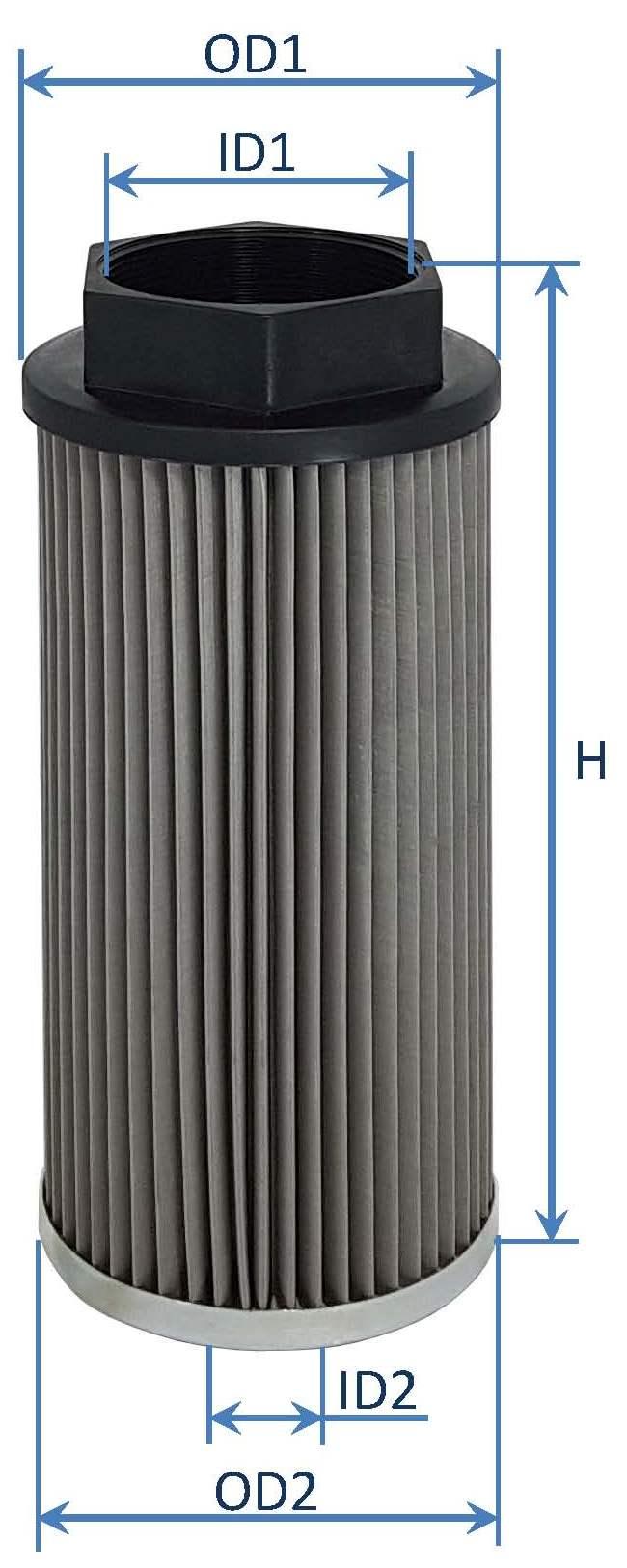فیلتر روغن هیدرولیک هاروستر