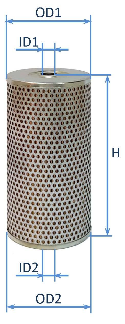 فیلتر سوخت كماتسو65 – کامینز – وایت - اینترناش