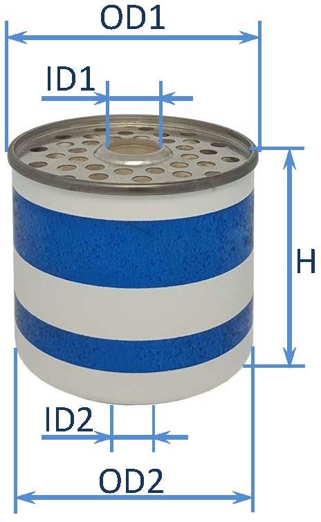 فیلتر سوخت تراکتور مسی فرگوسن 285