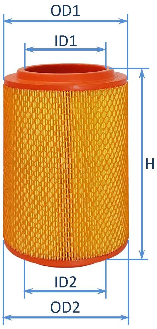 فیلتر هوای مینی بوس هیوندای - کامیونت هیوندای مایتی