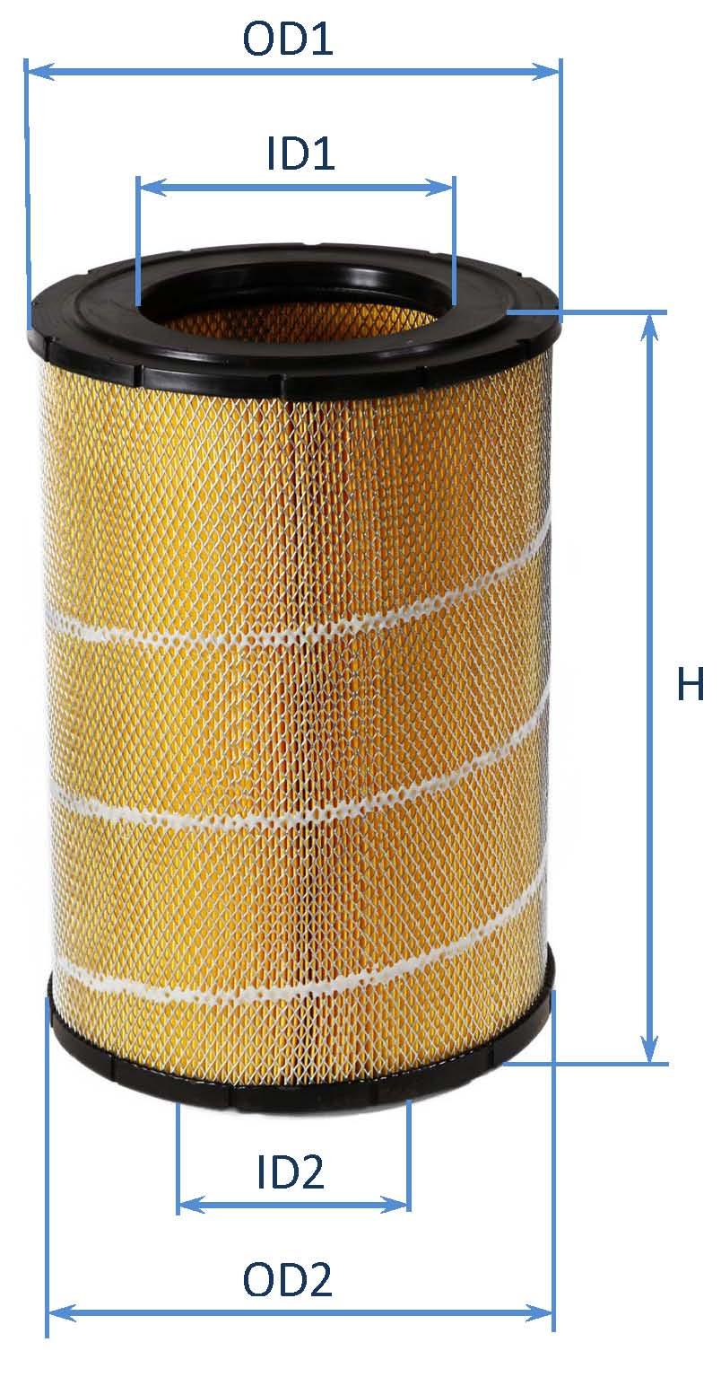 فیلتر هوای کامیونت ایسوزوP700