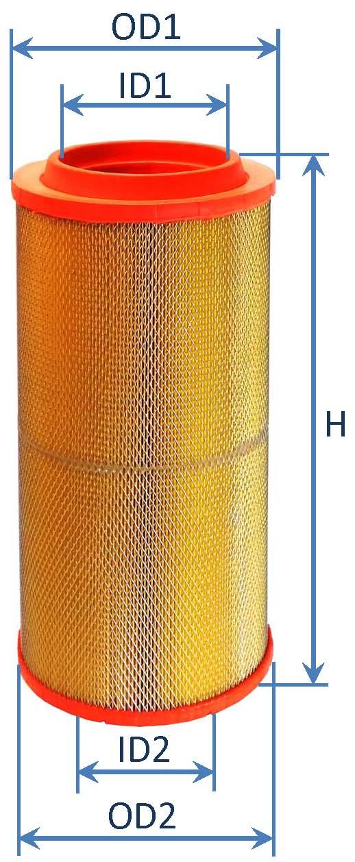 فیلتر هوای کامیونت الوند
