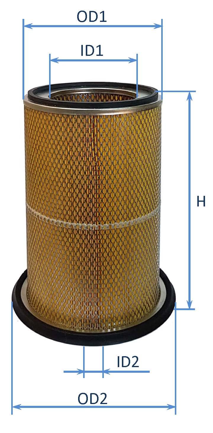 فیلتر هوای كماتسو D155,D85,D355