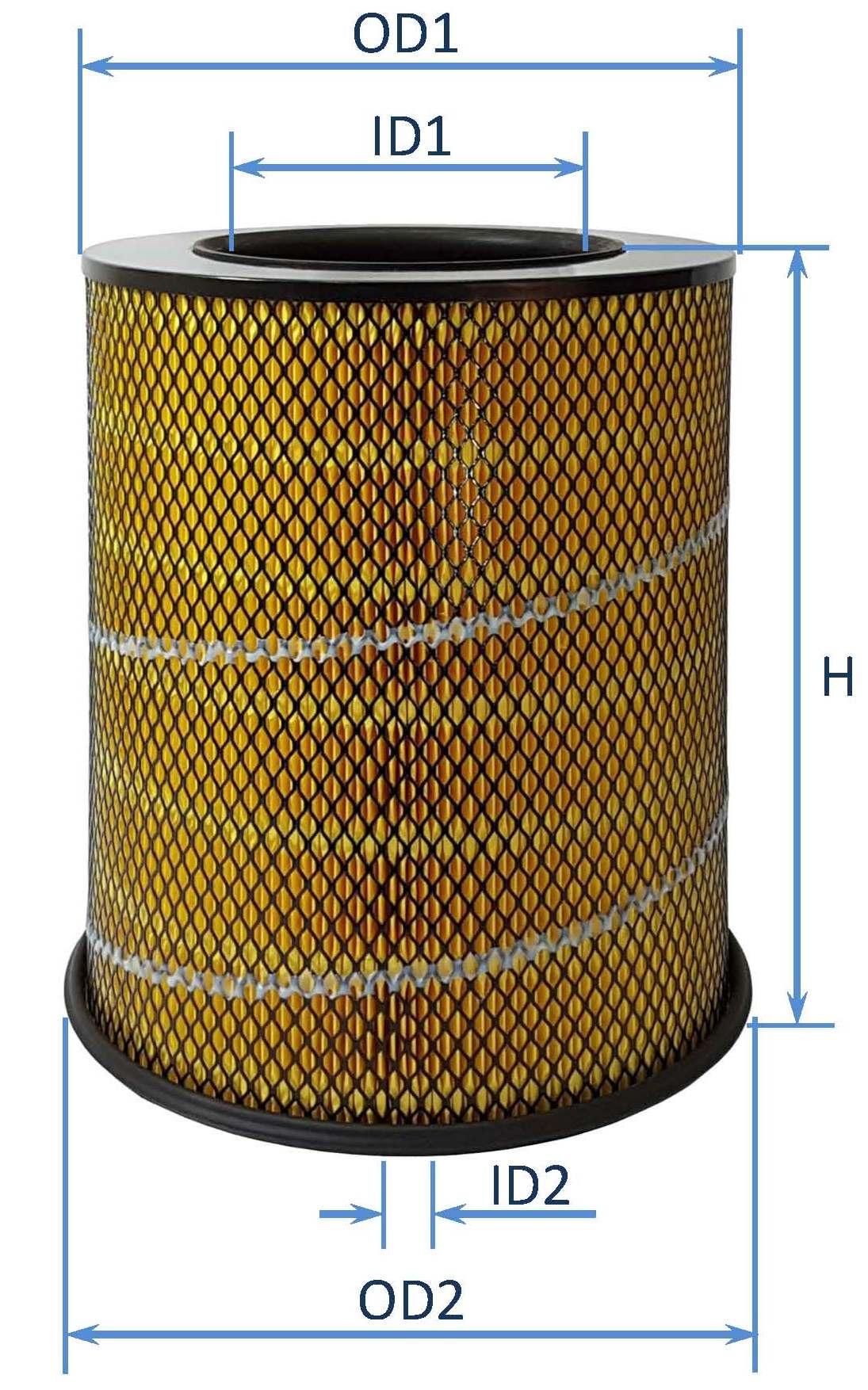 فیلتر هوای كاميون ولووFH12وNH12