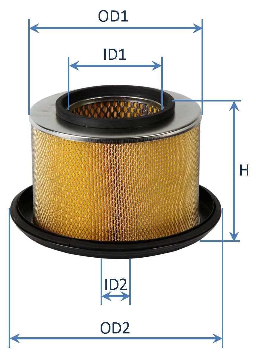 فیلتر هوای كاميون اسكانيا 112