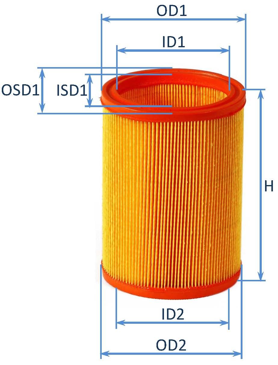 فیلتر هوای پیکان انژکتوری