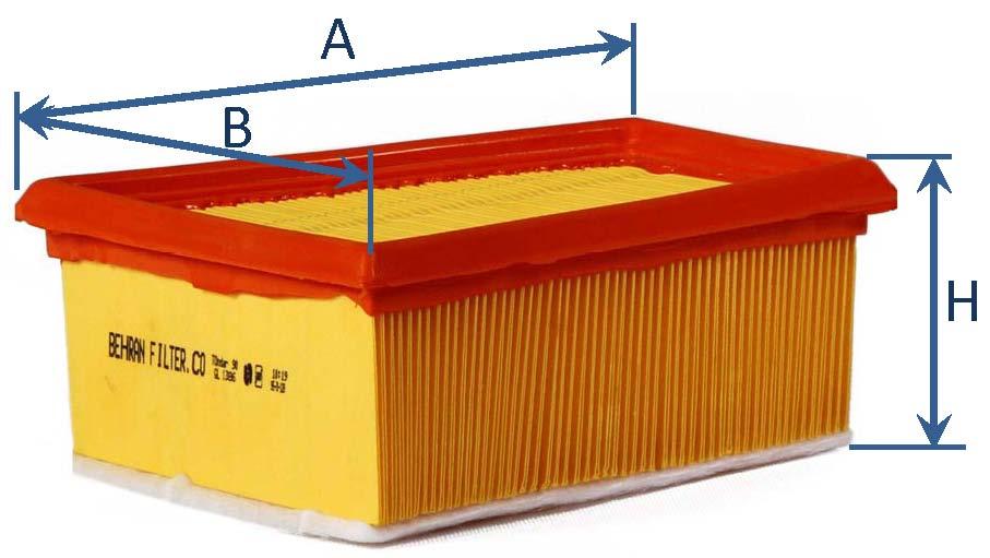 فیلتر هوای تندر L90 - ساندرو