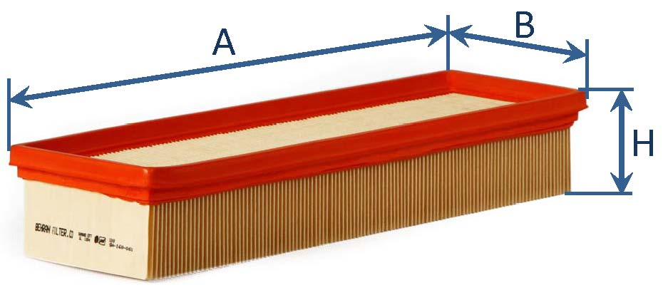 فیلتر هوای سمند EF7 - دنا