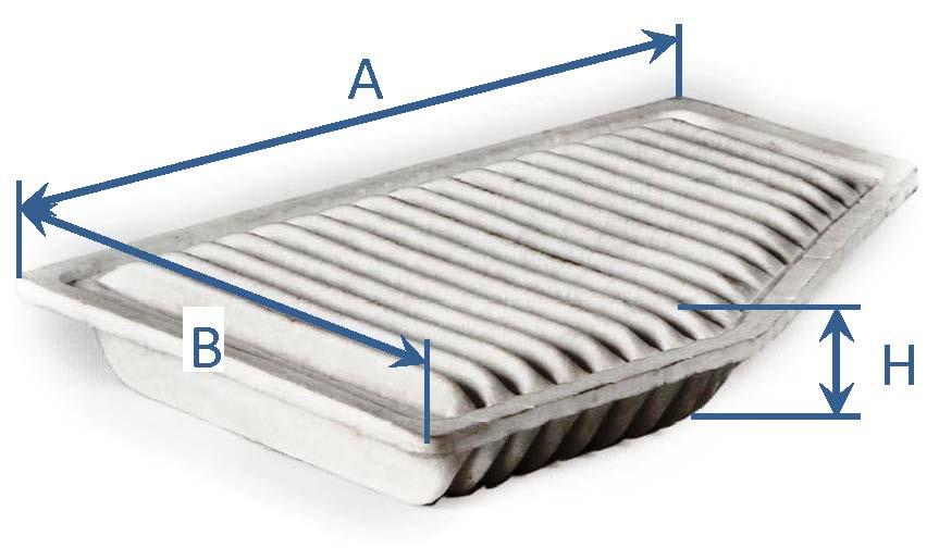 فیلتر هوای MVM 315