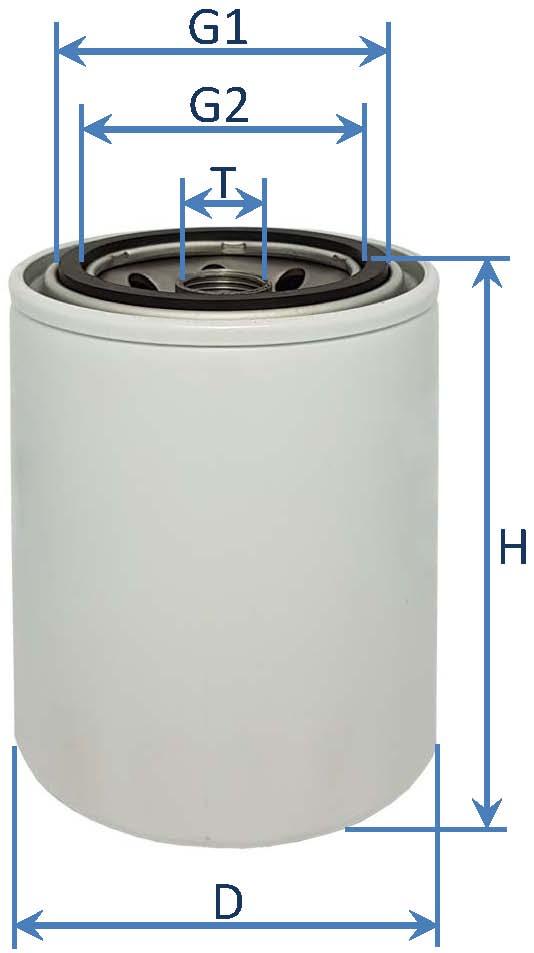 فیلتر آب موتور کمنز – وایت